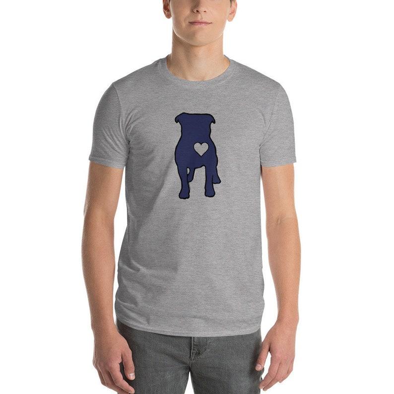 Bully Heart Unisex Anvil T-Shirt Grey