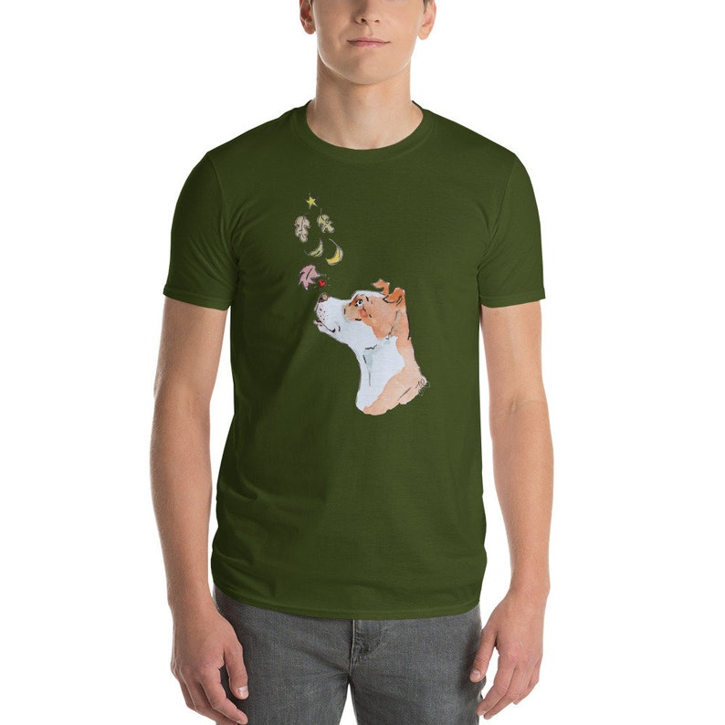 Fall for A Bully Short-Sleeve Anvil Unisex T-Shirt City Green