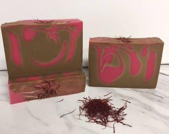 Cedar and Saffron, Handmade Soap