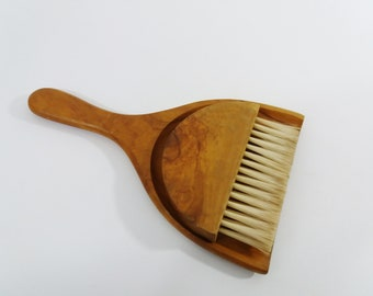 The Best Art Deco Oak Crumb Pan With Matching Brush...circa 1930 Other Antique Home & Hearth