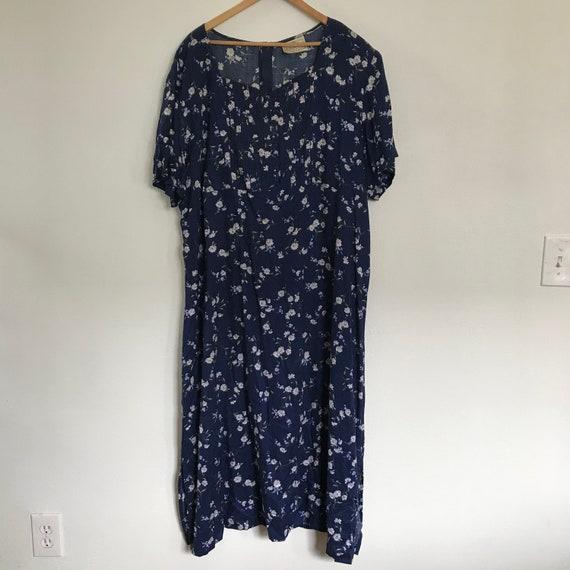 XXXL Plus Size Dress - Rayon Dress