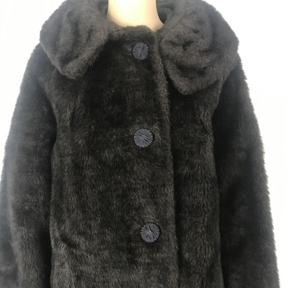 Teddy Bear Coat - Faux Fur / Chocolate Brown Coat
