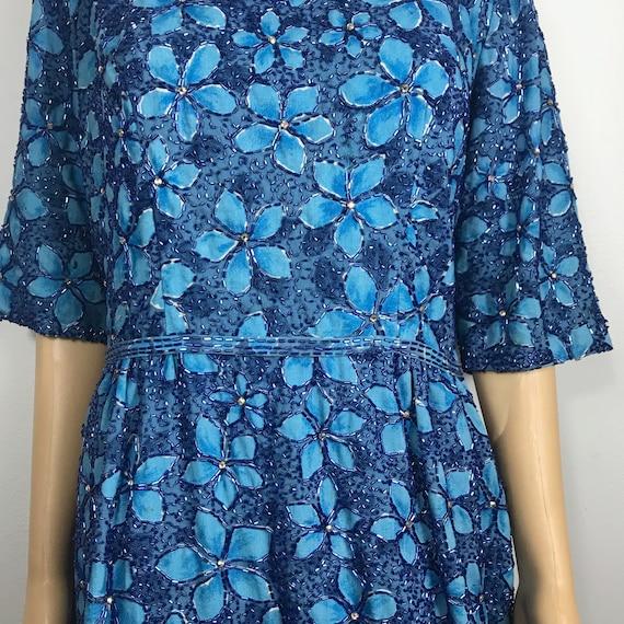 SPARKLE - LARGE Saks Fifth Avenue Beaded Dress / 5