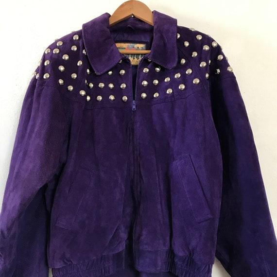 Suede Jacket 80s / Bomber Jacket