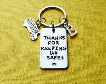 SEIRAA Bus Driver Keychain Appreciation Gift for School Bus Driver End of Year Gift I/'m A Bus Driver Keychain