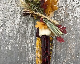 Indian Corn, Ornamental Indian Corn, Decorative Indian Corn, Corn, Decorated Indian Corn, All Natural Indian Corn, Fall Indian Corn