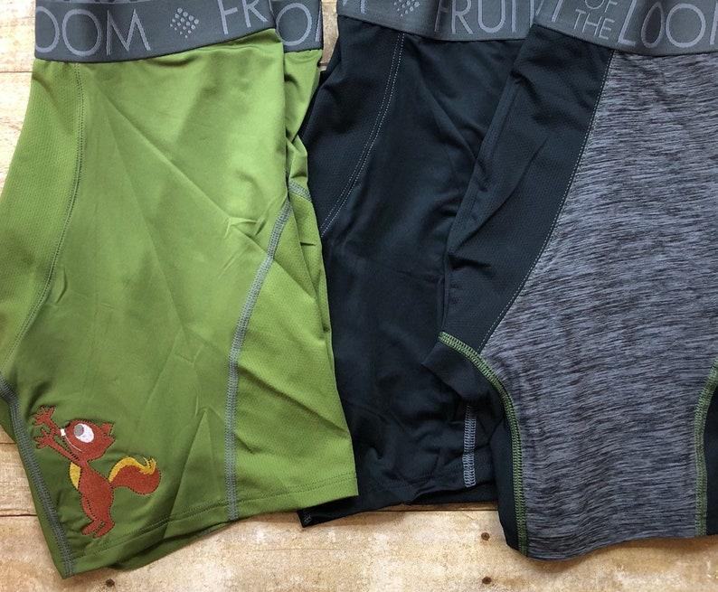 funny underwear boxer shorts squirrel underwear White elephant gift Mens gag gift stocking stuffer Christmas gag gift