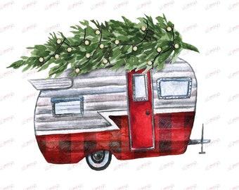 Image result for christmas tree caravan cartoon images ideas