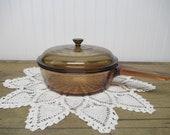 Vintage Vision Pyrex Cooking Pan Sauce pan skillet