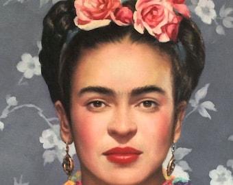 Digital Download Art: Frida Kahlo Wall Art Poster. Feminist Art, Gallery Wall Art, Instant Download Digital Print, Printable Wall Art