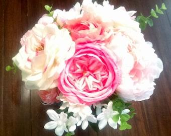 Bridesmaid Bouquet, Wedding Bouquet, Bridal Bouquet, Bouquet, Summer Bouquet, Summer Wedding Bouquet, Bride Bouquet, Peony Bouquet