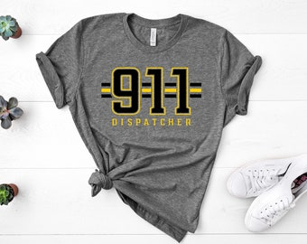 Printed 911 Dispatcher Heartbeat Thin Gold Line Childrens Boys /& Girls Unisex Cool Sweatpants