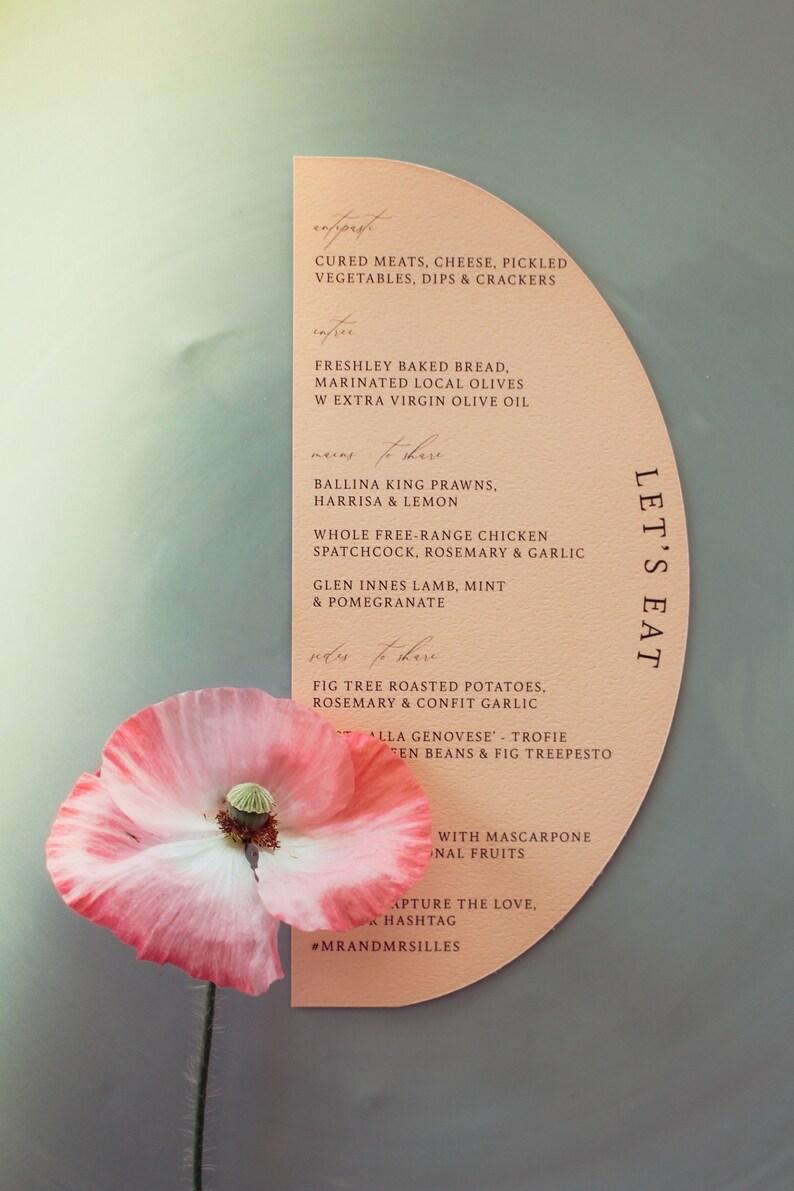 Isabella Long arch menu