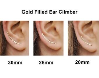 Ear Climbers Earrings, Ear Climber, Gold Ear Pins, Climber Earrings, Ear Crawlers, Earrings Pin, Gold Earrings, Earring Pins