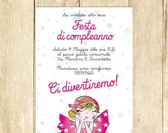 Ballerina Birthday Party uitnodiging, verjaardagsuitnodiging, verjaardag uitnodigingen verjaardag uitnodiging afdrukbare verjaardag uitnodiging digitale afgedrukt