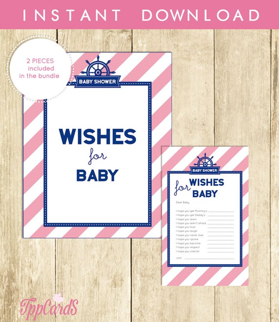 image regarding Wishes for Baby Printable identify Nautical Needs for Boy or girl, Printable Nautical Perfectly Would like for