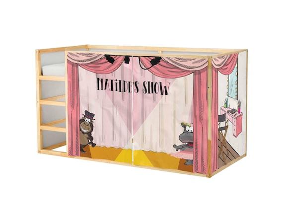 Customized Playhouse For Ikea Kura Bed Voice Sing