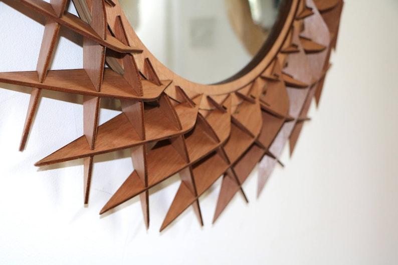 Ronde Houten Spiegel : Spiegel ronde spiegel houten spiegel ronde houten etsy