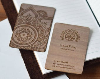 business cards - personalized business cards  -  wood business cards - rustic business cards - personalized business cards, wood cards