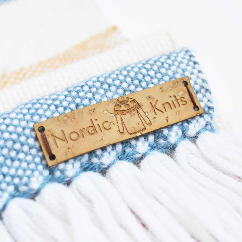 0277278814 Personalized cork labels Cork tags Crochet labels   Etsy
