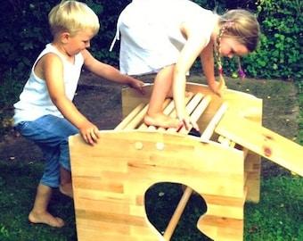 Wood joys. Children's rocking chair