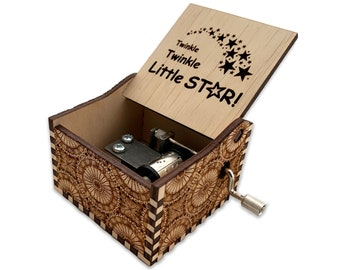 holiday xmas gift simplycoolgifts custom made music box music box stars star engraved jewelry box twinkle twinkle little star