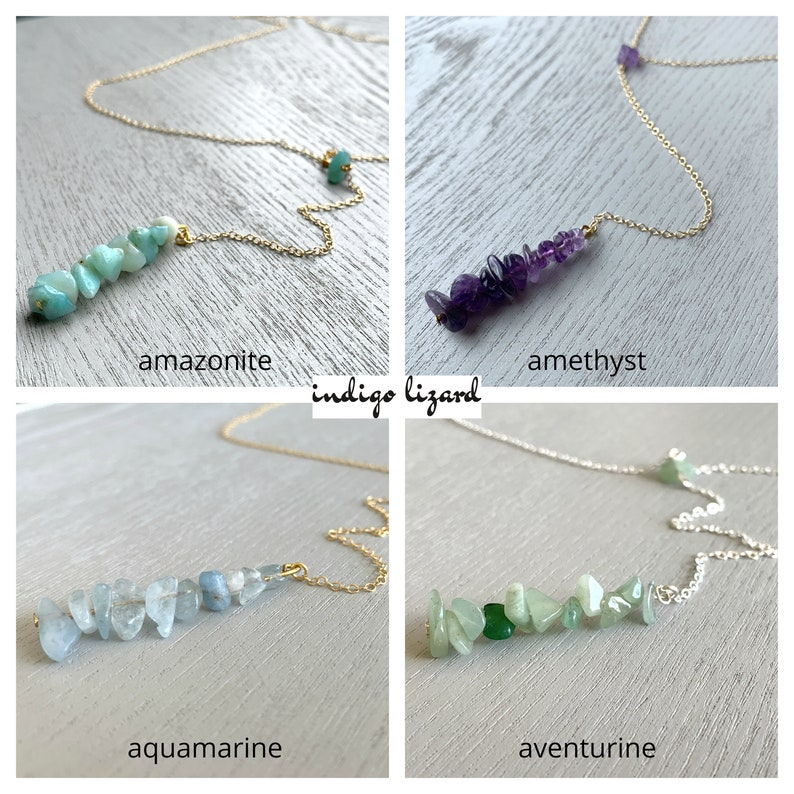 Custom Handcrafted Crystal Jewelry for Mom Personalized Family Birthstone Necklace Sister Wife Daughter Dainty Mother/'s Day Necklace