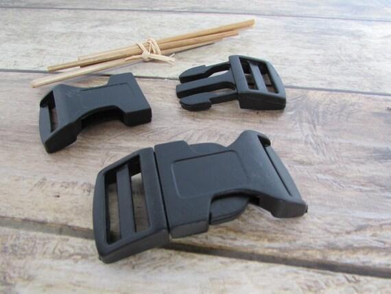 Boucles clip attache rapide en plastique noir 4 modèles pour   Etsy e5c817a2ae5