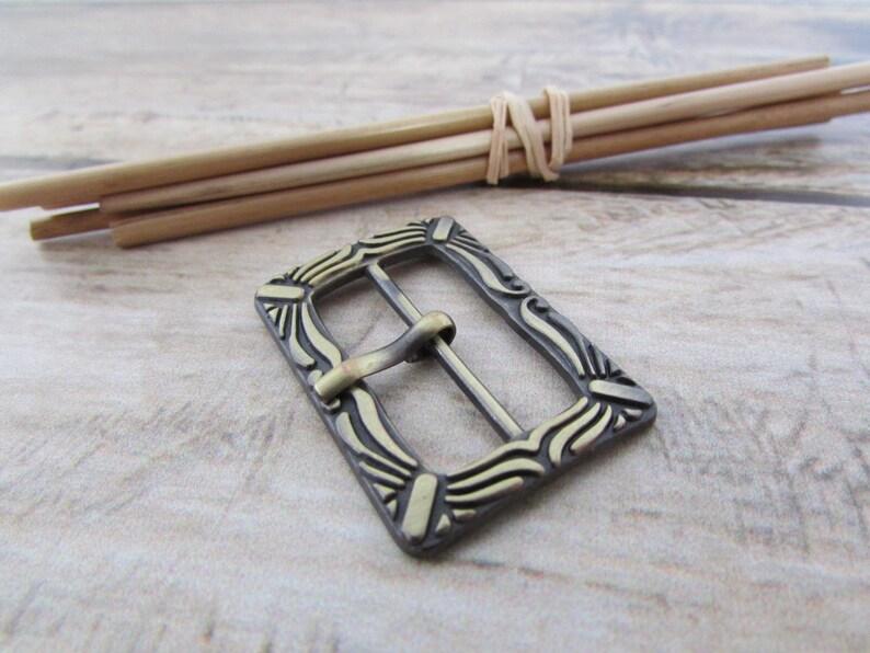fa81818ef12 2 Boucle de ceinture pour lanière de 24 mm métal bronze