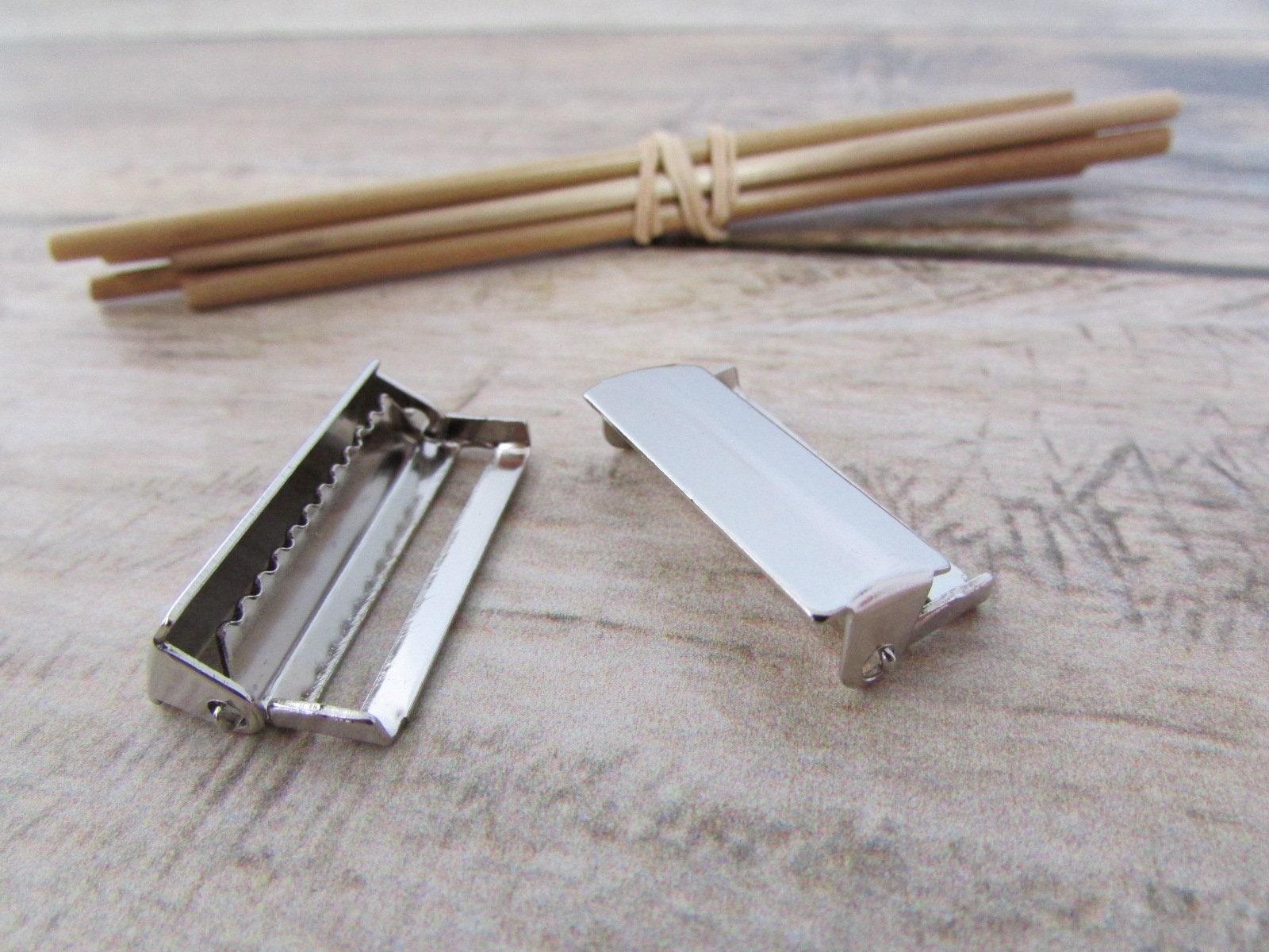 ce9f0558b3a 10 boucle réglable dentelée pour sangle de 2.5 cm métal
