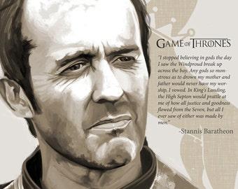 Stannis baratheon poster, House Baratheon poster, Game of Thrones poster, got poster, fantasy poster, game of thrones art print