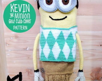 Kevin the Minion Golf Club Cover Pattern
