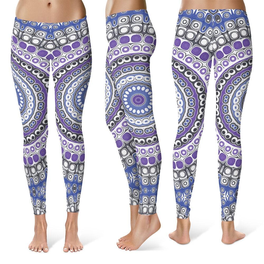 5f7a9f5292080 ... Tribal Leggings: Tribal Leggings Yoga Pants Printed Yoga Tights For  Women