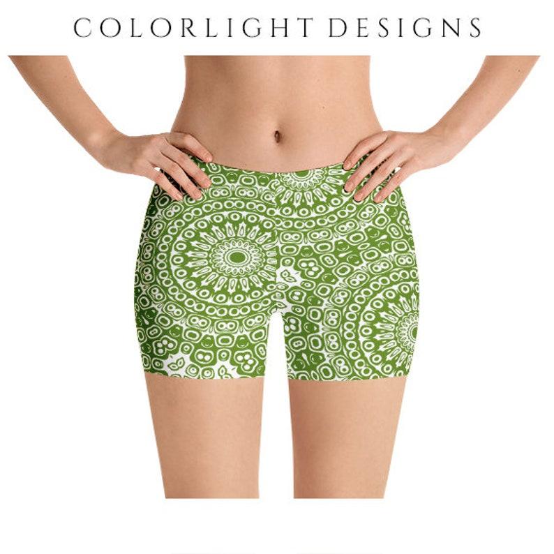 fabc38817008a Avocado Yoga Shorts Workout Clothing Plus Size Short | Etsy