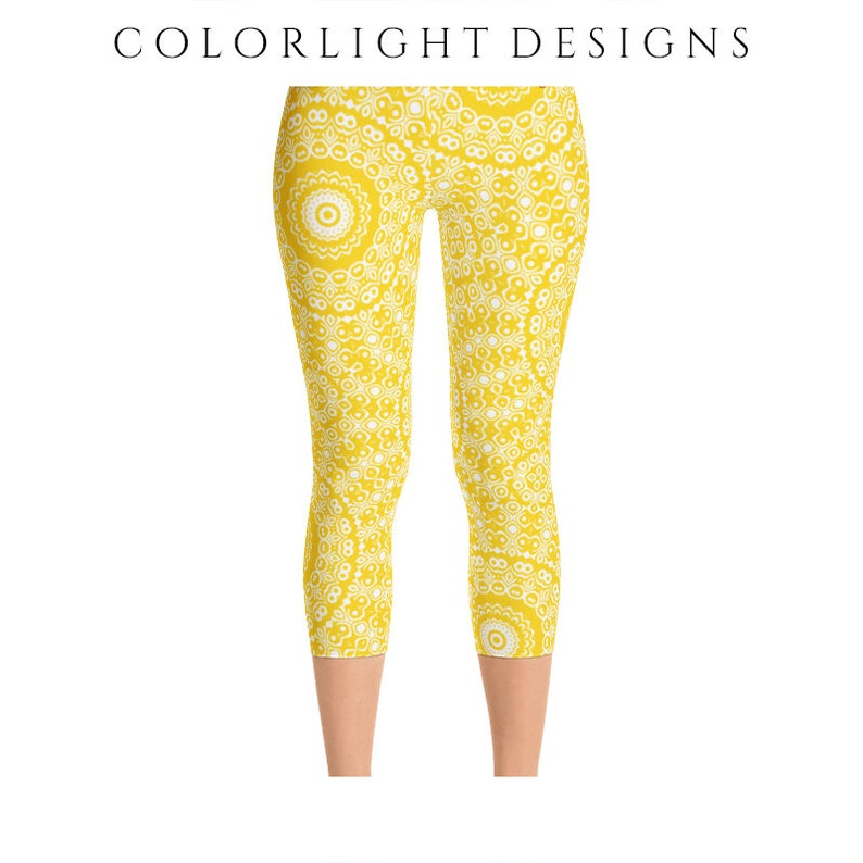 READY TO SHIP Gold Leggings in Size Extra Large Yellow image 0