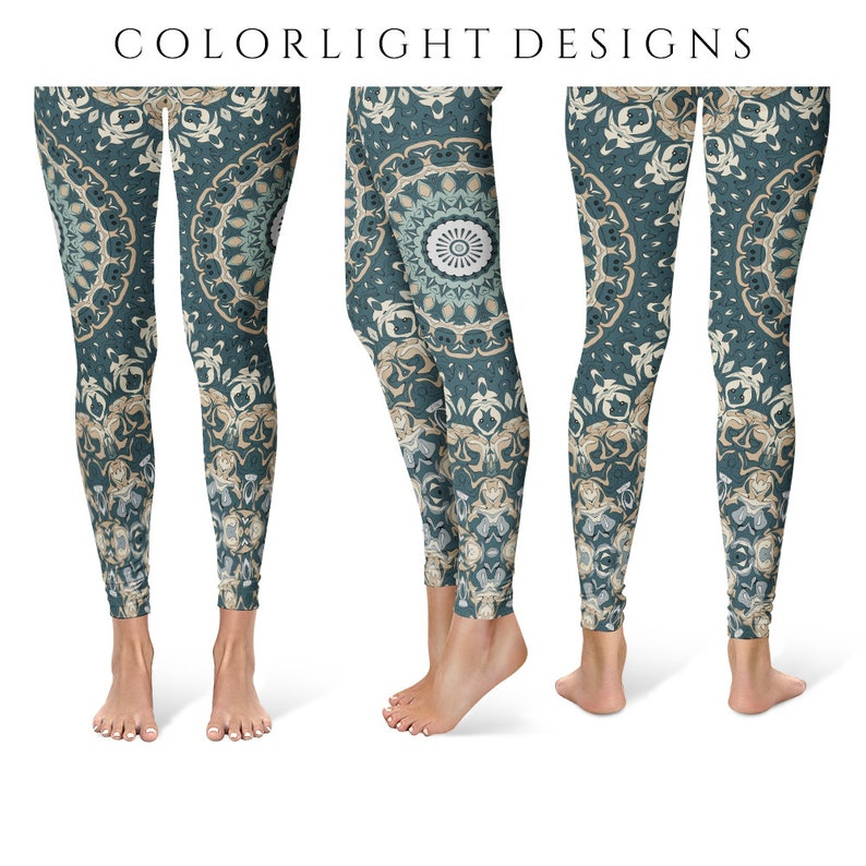 Ladies Yoga Leggings Distinctive Printed Leggings for Women image 0