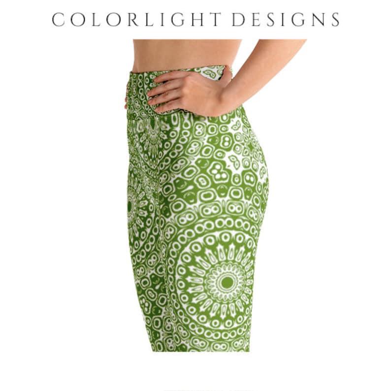 High Waist Avocado Leggings Yoga Pants Printed Yoga Tights image 0