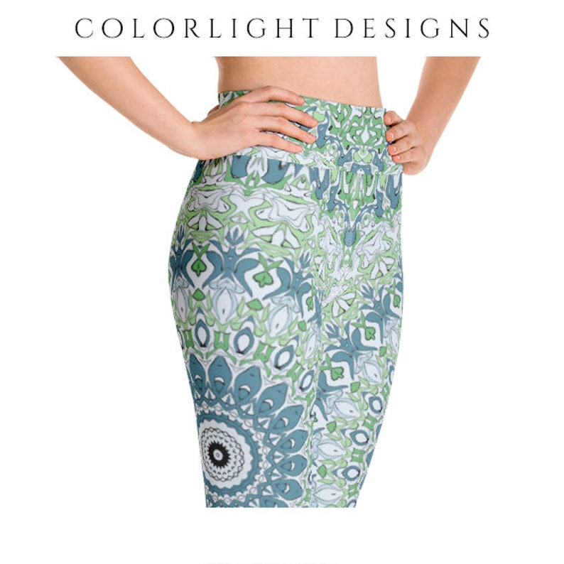 High Waist Leggings Yoga Pants Printed Yoga Tights for Women image 0
