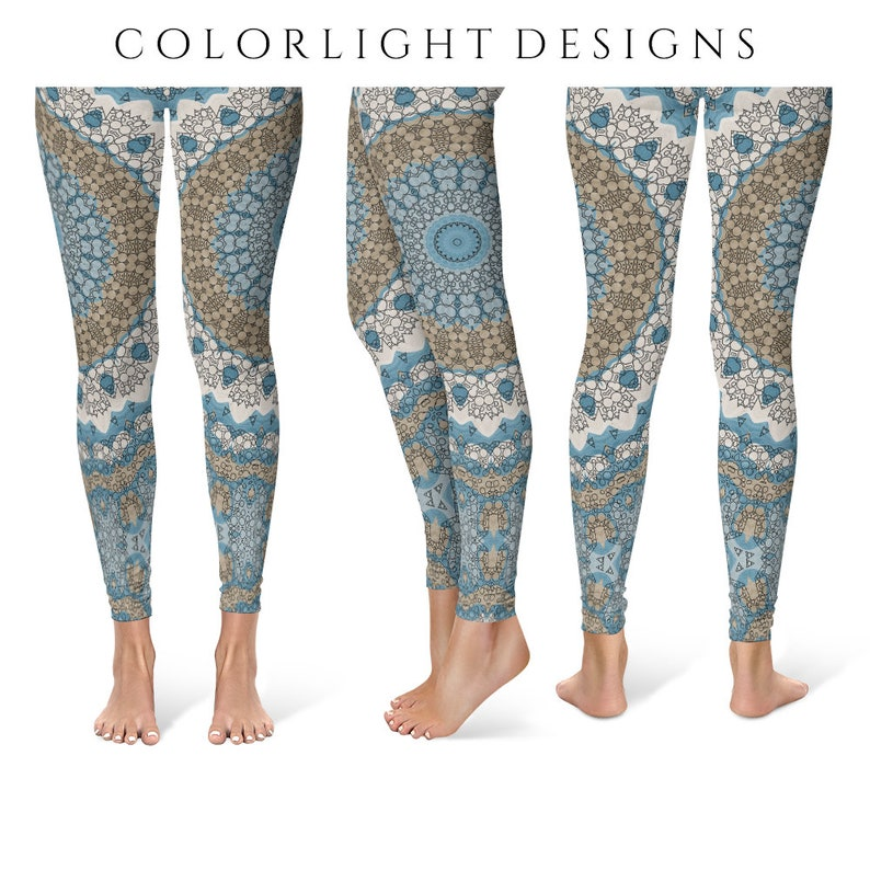 Printed Leggings Yoga Pants Unique Yoga Tights for Women image 0