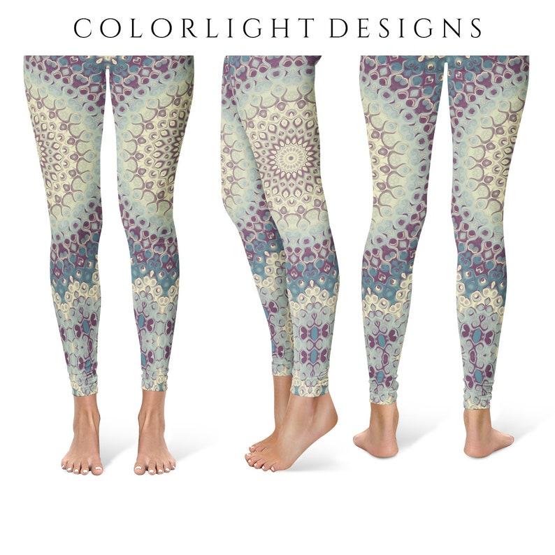 Mandala Leggings Yoga Pants Printed Yoga Tights for Women image 0