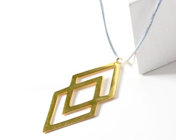 Double Rhombus Necklace