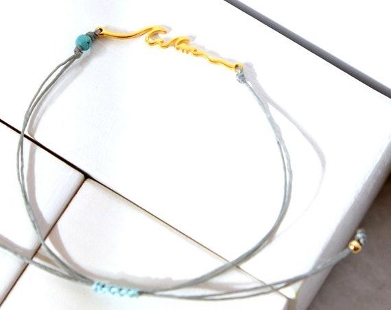 Gold Waves Bracelet