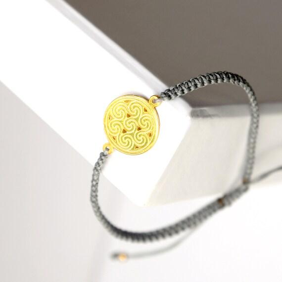 Charm Macrame Bracelet