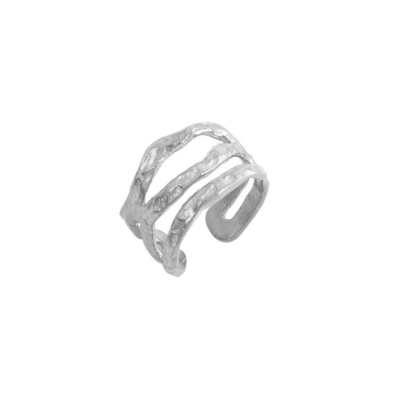 Silver Chevalier Ring