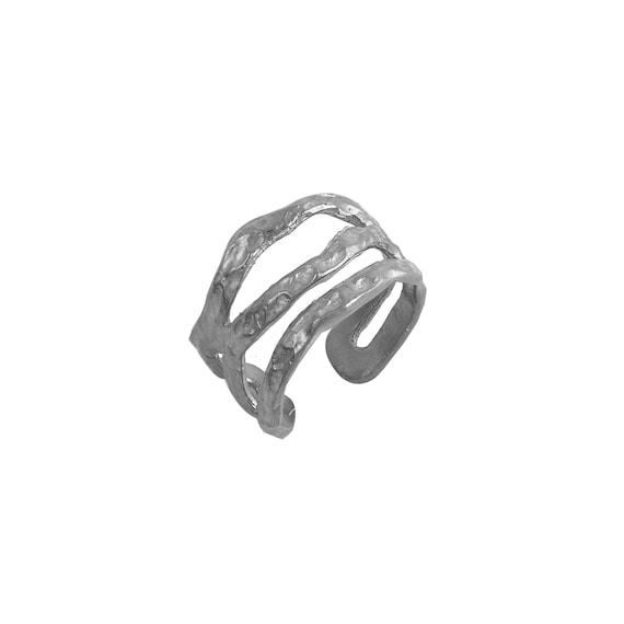 Black Chevalier Ring