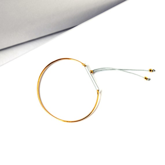 Dainty Thin Cuff Bracelet
