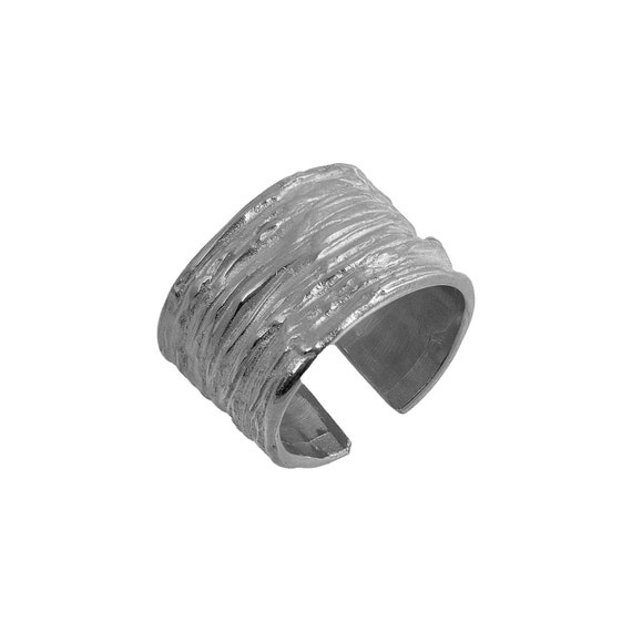 Black Wide Band Ring