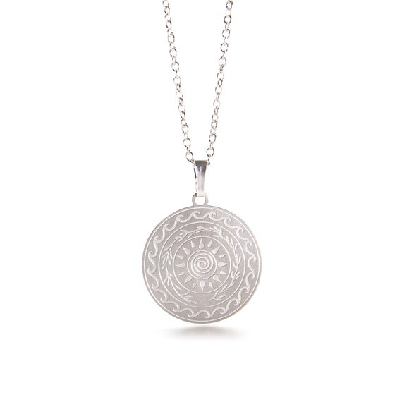 Lucky Charm 2021 Silver Necklace