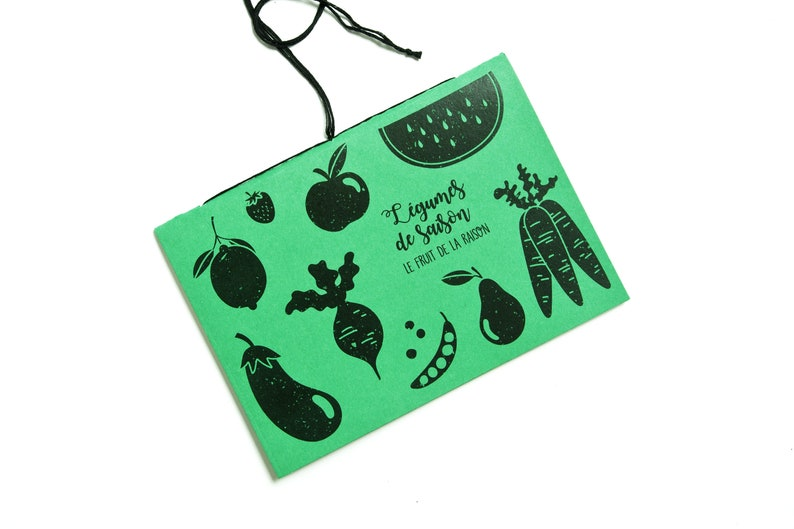 Calendar of seasonal fruits and vegetables notebook to better image 0