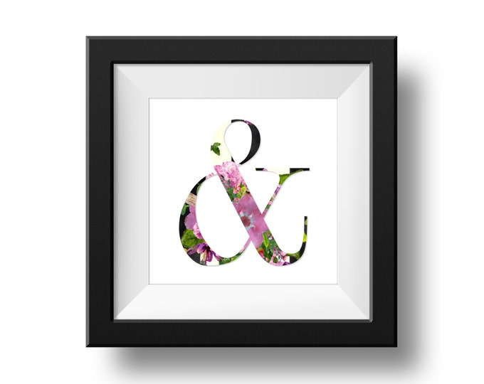 Digital Print - Ampersand & More...